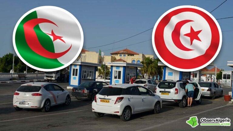 Algérie-Tunisie : Des familles algériennes ferment un poste frontalier