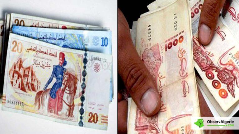 Algérie : Flambée du dinar tunisien sur le marché noir