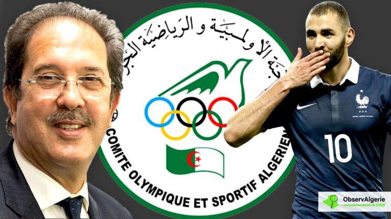 Polémique autour de Benzema en Algérie : Le Comité olympique s'explique