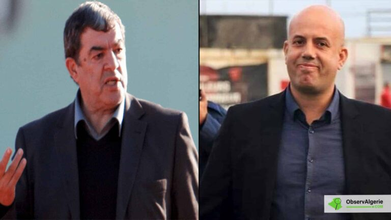 JS Kabylie : Violent échange entre Cherif Mellal et Mohand Cherif Hannachi