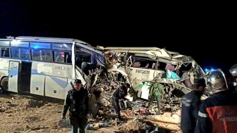 Algérie : 12 morts et 46 blessés dans une collision entre deux bus