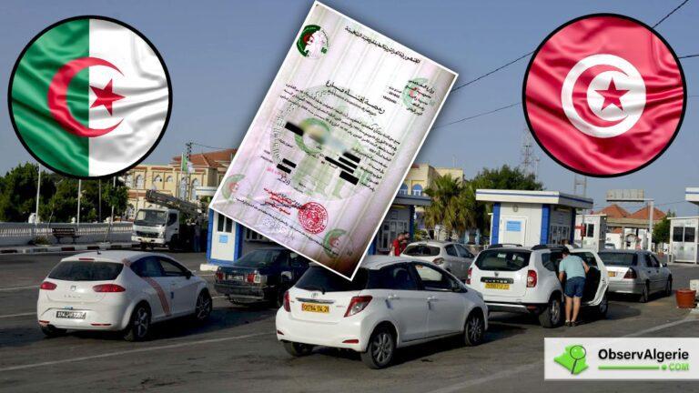 Importation de véhicules vers l'Algérie : Vive tension à la frontière tunisienne
