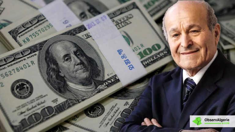 La fortune de Rebrab a fortement augmenté en 2019 (Forbes)