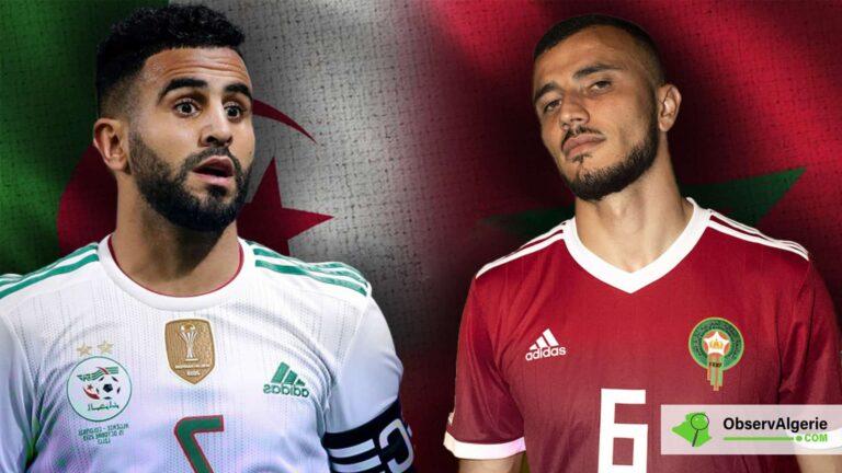 Algérie : Riyad Mahrez lance un défi aux Marocains