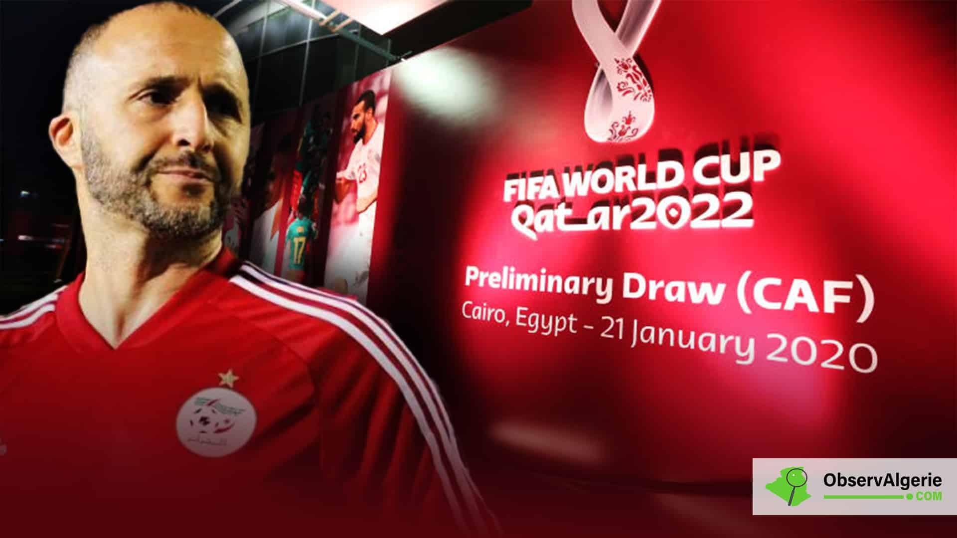 Belmadi réagit au tirage des éliminatoires de la Coupe du Monde