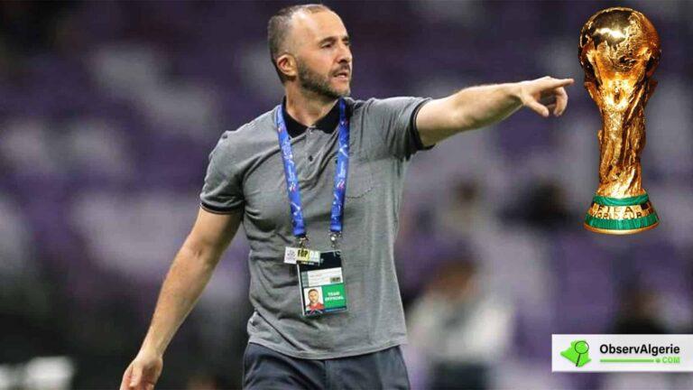 Djamel Belmadi veut gagner la Coupe du Monde avec l'Algérie
