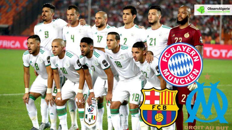 Le FC Barcelone convoite un international algérien