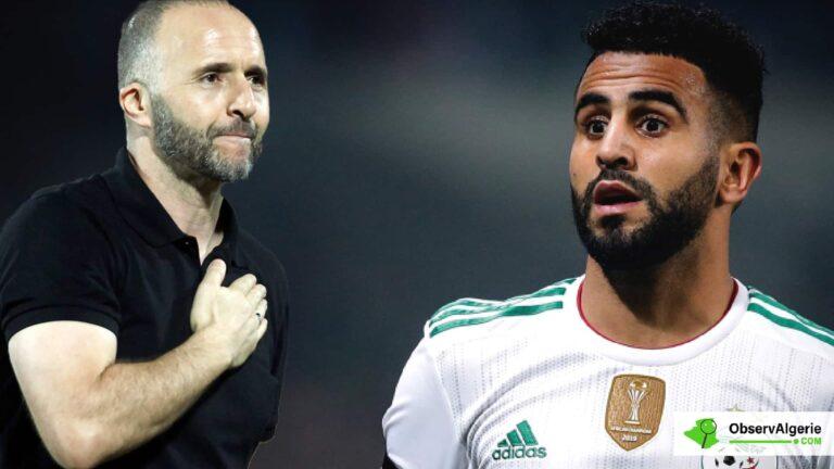 Equipe d'Algérie : Les révélations de Mahrez sur l'arrivée de Belmadi