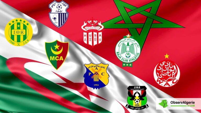 Football : Les Marocains dominent les Algériens en compétition internationale
