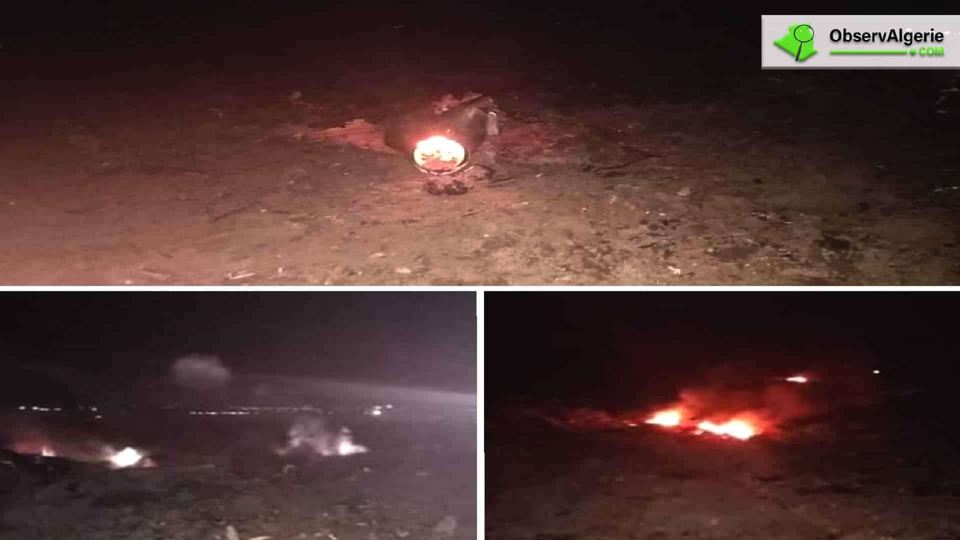 Algérie : Le crash d'un avion de chasse fait deux morts