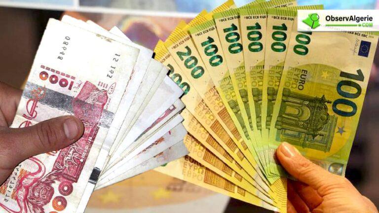 Léger recul du dinar algérien sur le marché noir des devises (21/01/2020)