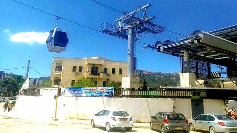 Kabylie : La date de mise en service du téléphérique de Tizi Ouzou fixée