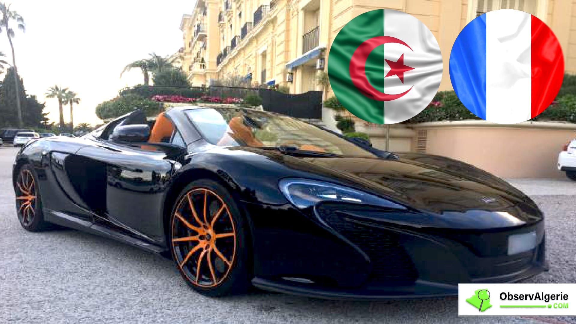Des voitures de luxe volées en France envoyées en Algérie