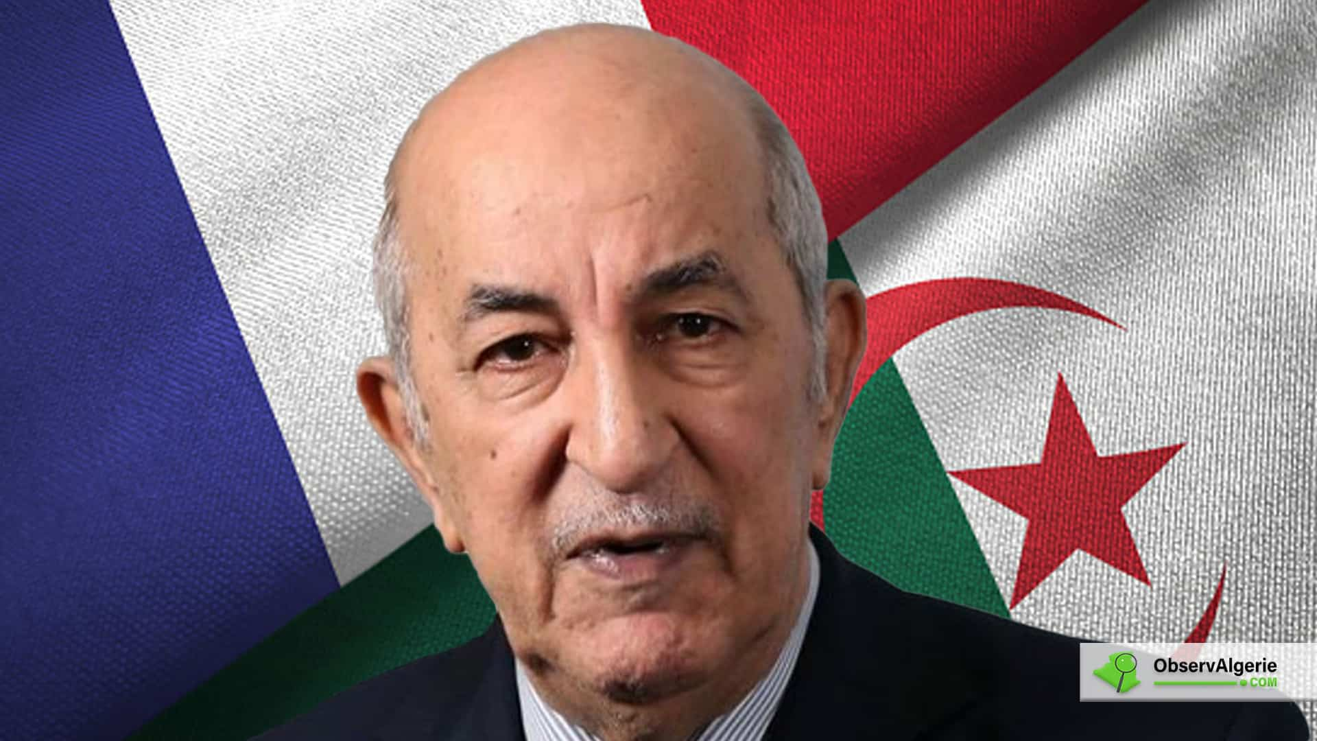 Algérie - France : Les conditions de Tebboune pour de bonnes relations